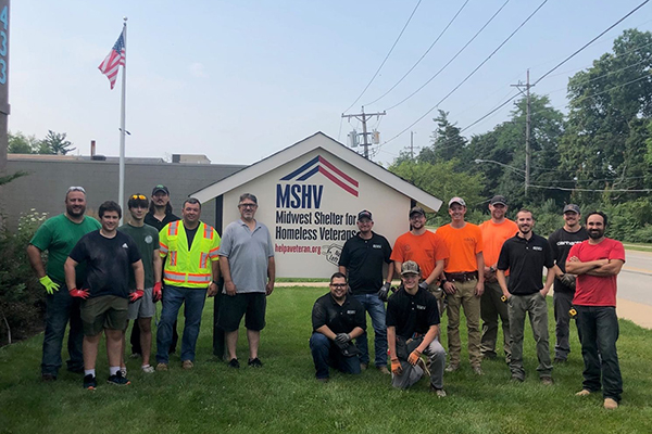 Meade Partners with IBEW Local 701 to Help Local Veterans